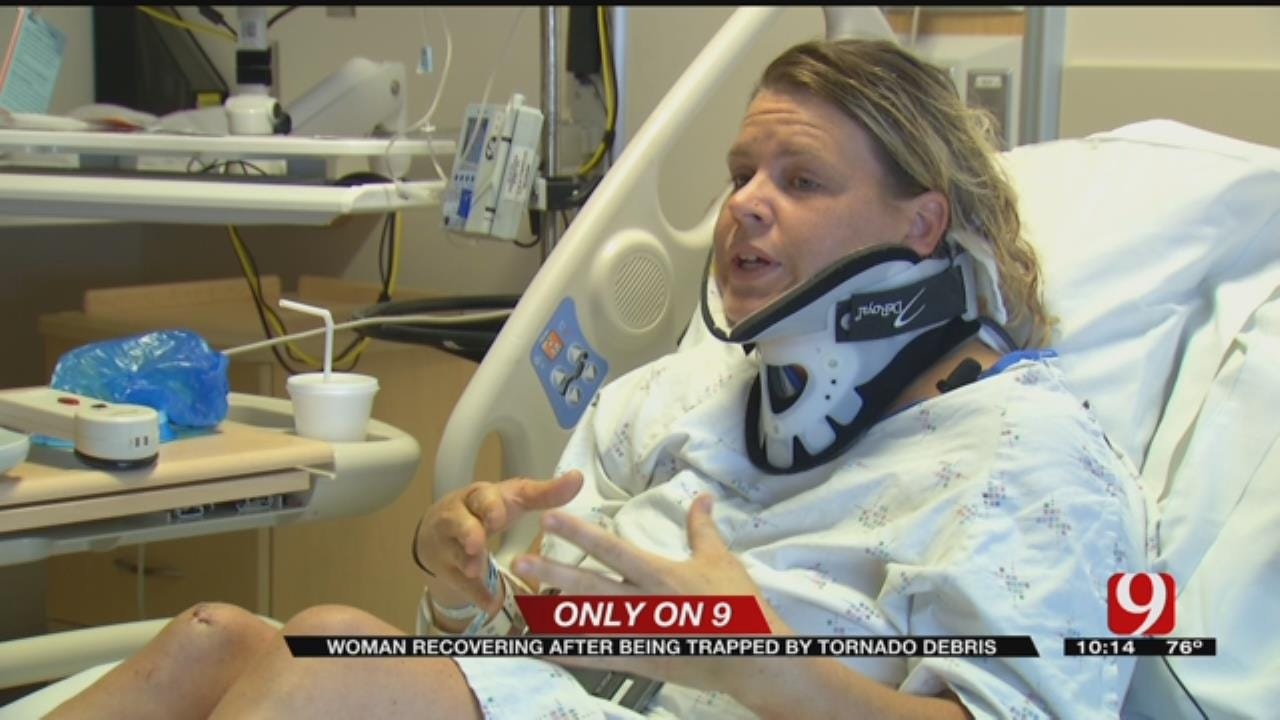 Tulsa Woman Recovering After Being Trapped By Tornado Debris
