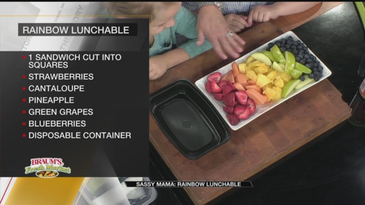 Rainbow Lunchable