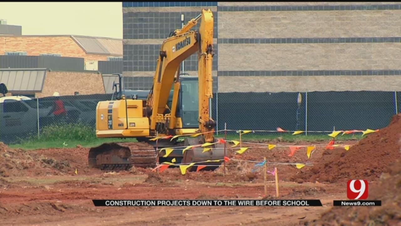 Edmond Schools Construction On Target To Be Complete By First Day Of School