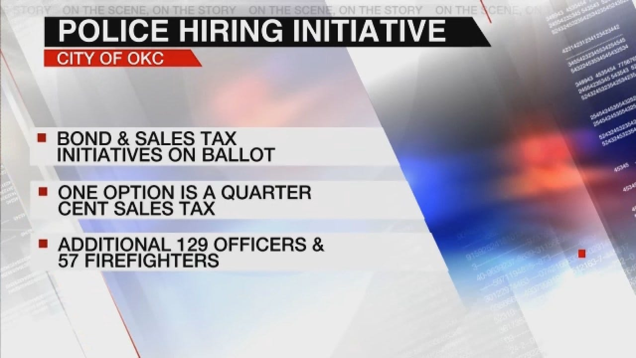 Holt Supports Increased Police Manpower