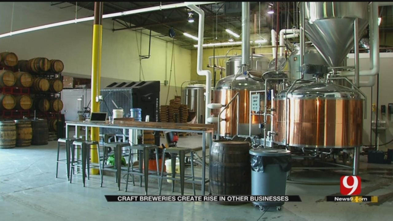 Breweries, Tap Rooms On Rise in OKC
