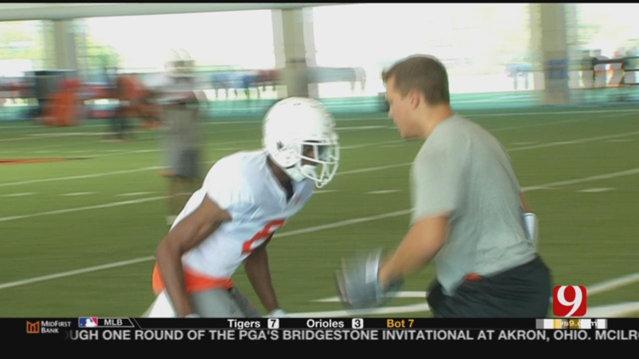 Gundy Talks Defensive Backs
