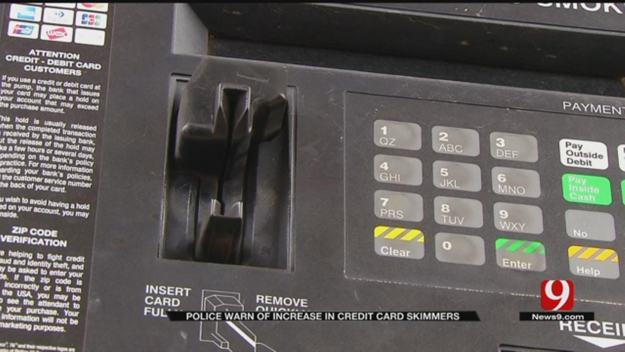 Police Warn Of Skimmer Scammers Targeting OKC Area