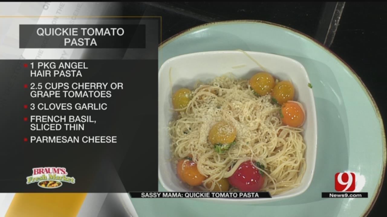 Quickie Tomato Pasta