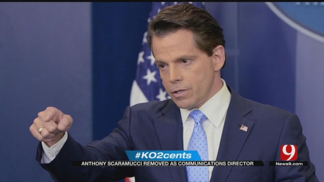 My 2 Cents: Anthony Scaramucci Removed As Communications Director