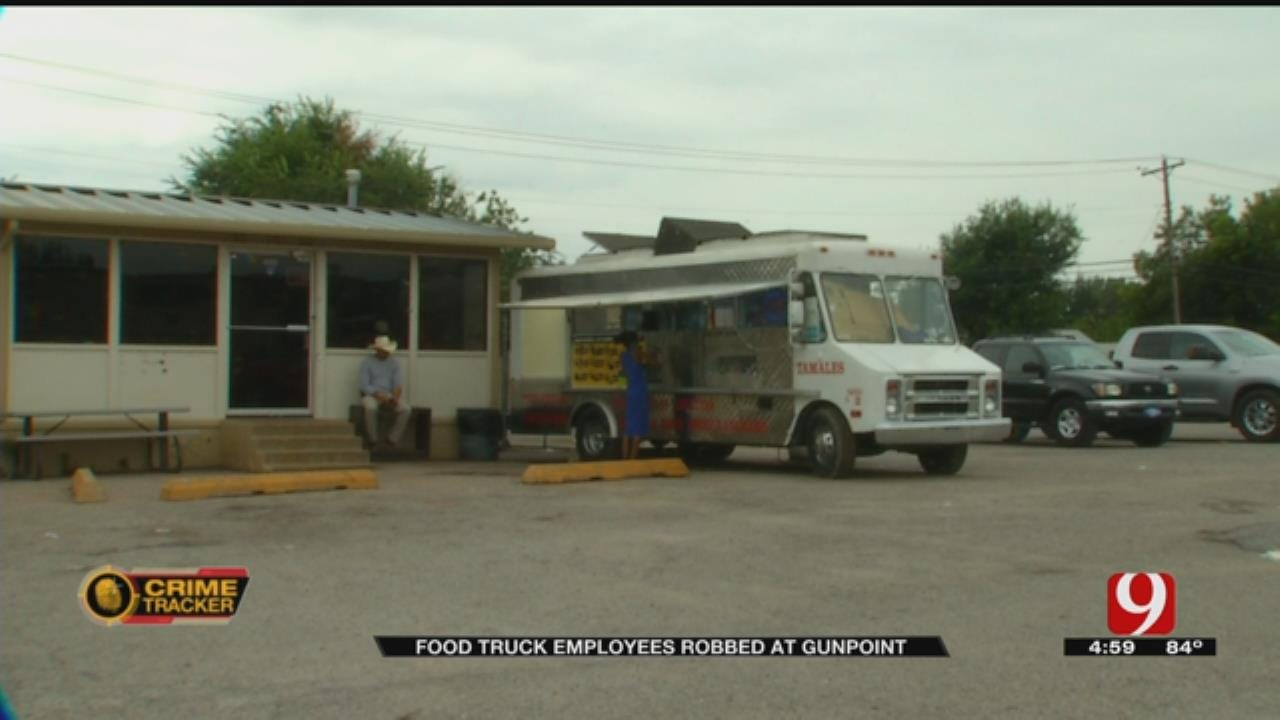 Two Armed Suspects Rob OKC Food Truck Twice