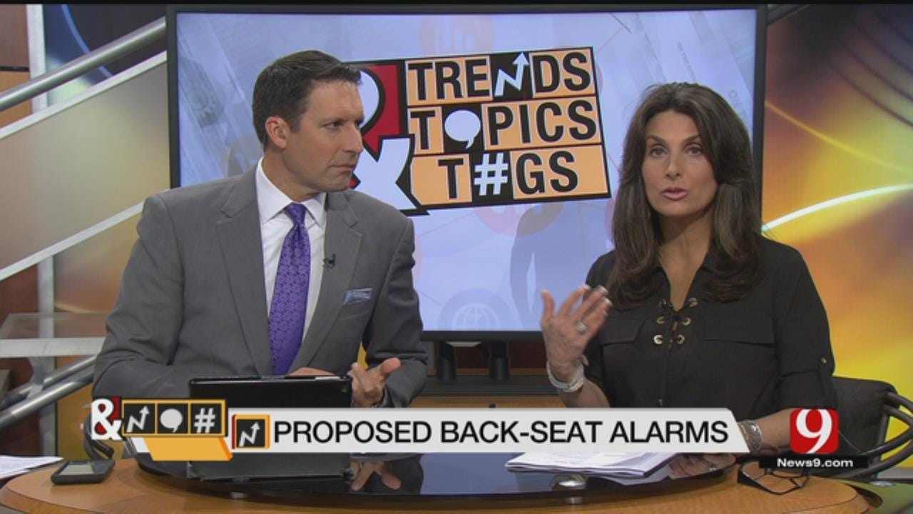 Trends, Topics & Tags: Proposed Law For Back-Seat Alarms
