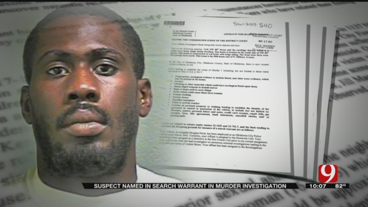Suspect Named In Search Warrant In OKC Murder Investigation