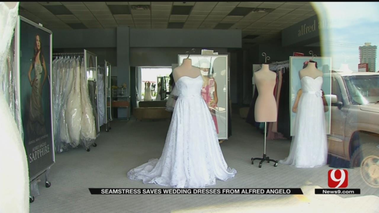 Seamstress Saves Alfred Angelo Bridal Gowns Before Store Closes