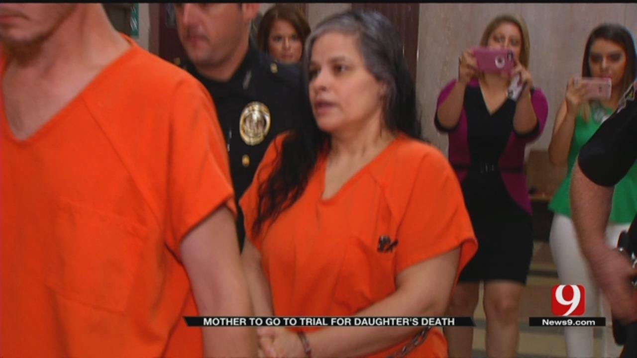OKC Woman Who Murdered Daughter With Crucifix Appears In Court