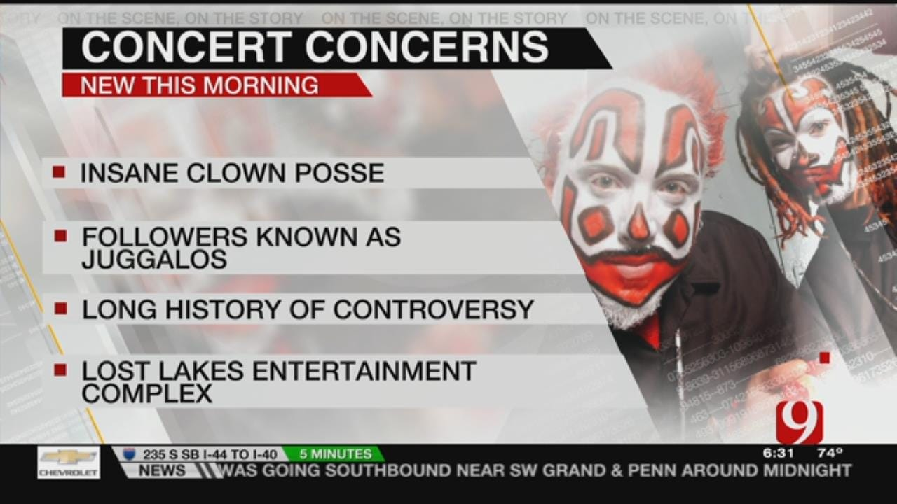 Gathering Of The Juggalos Gets Local Law Enforcement's Attention