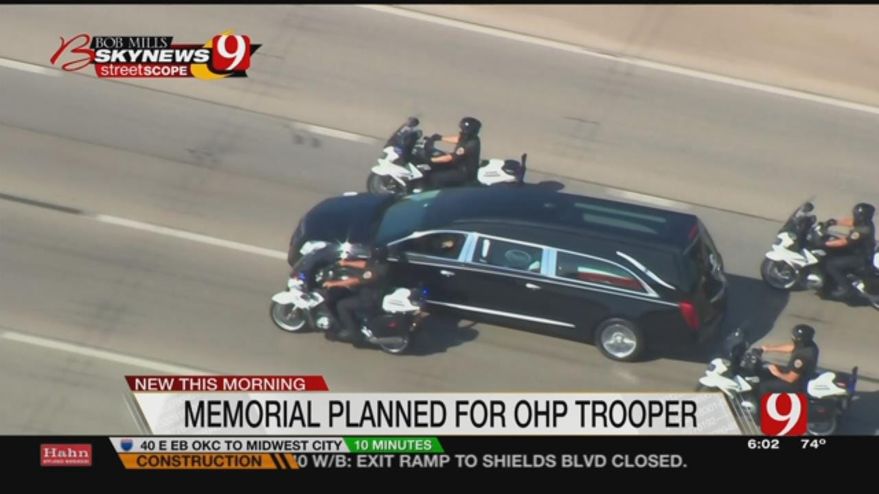 OHP Trooper To Be Laid To Rest Next Week