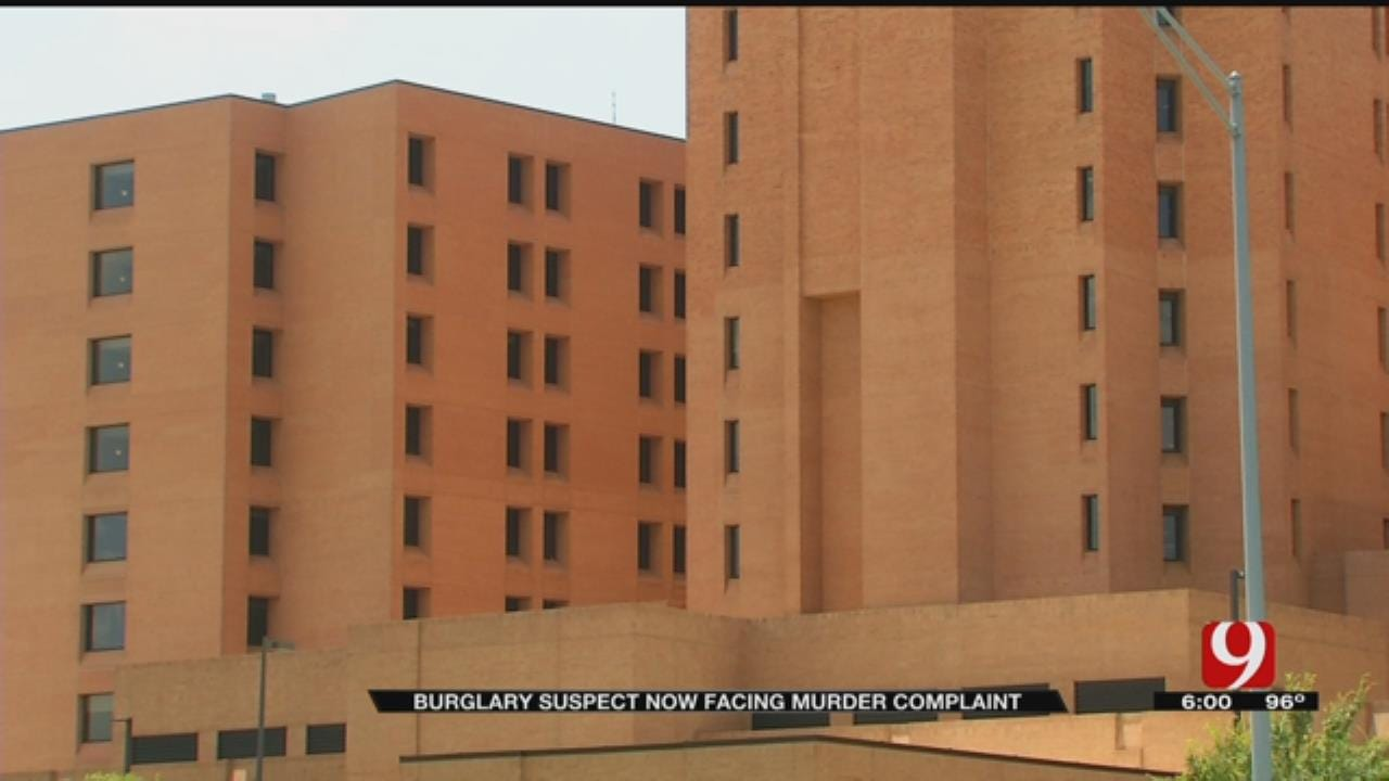 Burglary Suspect Faces Murder Complaint After Incident At Local Hospital