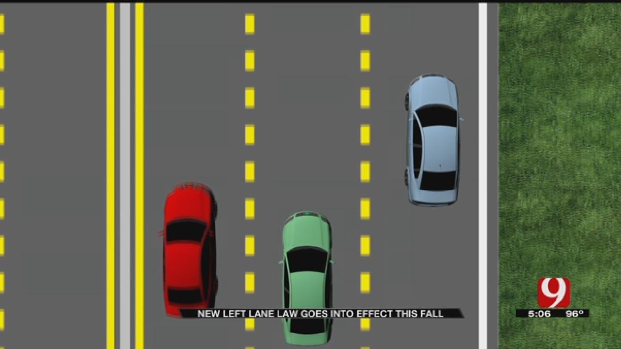 New Law Makes Left Lane Lingering Illegal In Oklahoma