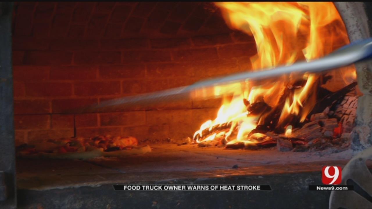 OKC Food Truck Owner Gets Heat Stroke