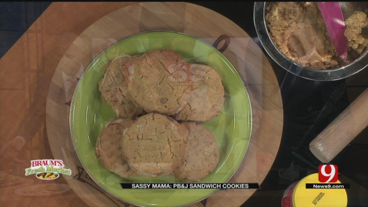 PB&J Sandwich Cookies