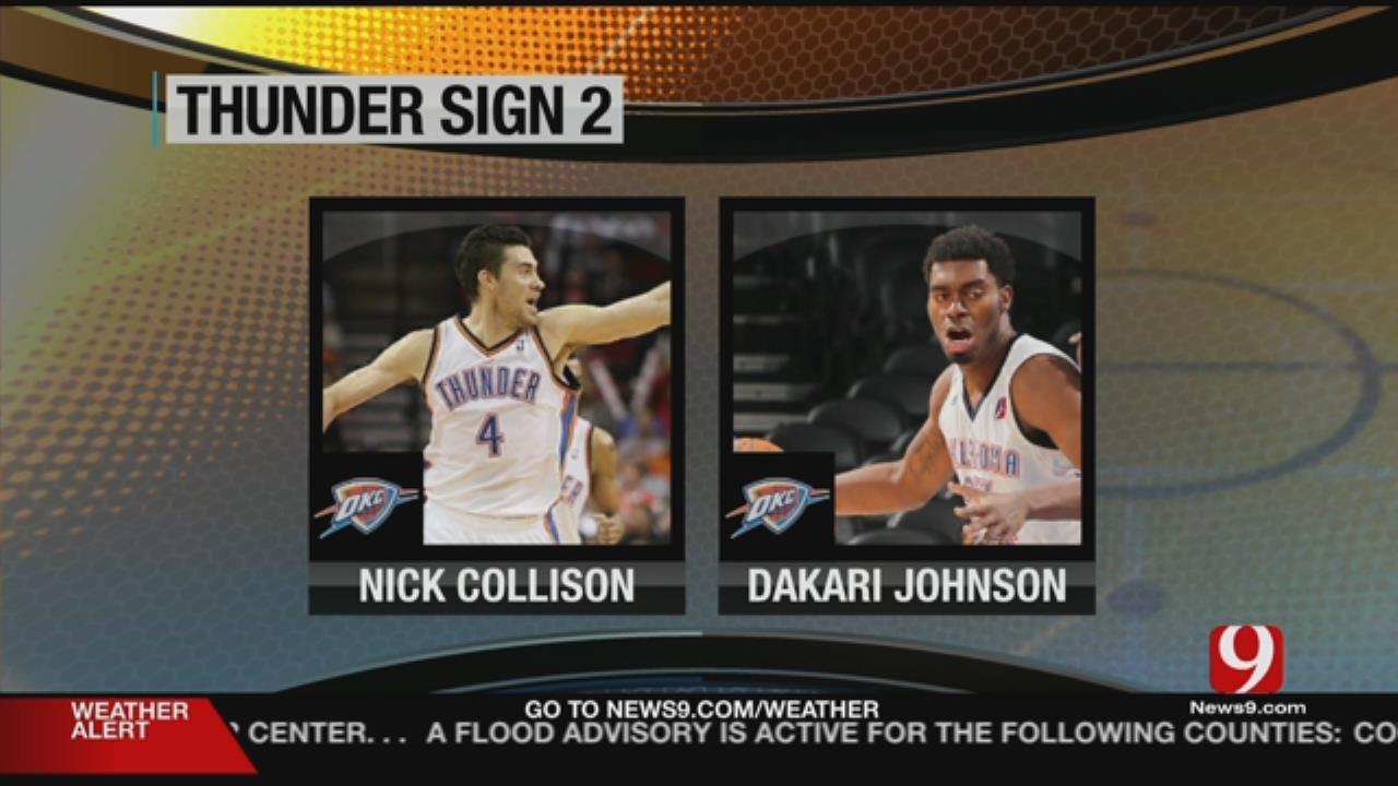 Thunder Signings: Nick Collison & Dakari Johnson