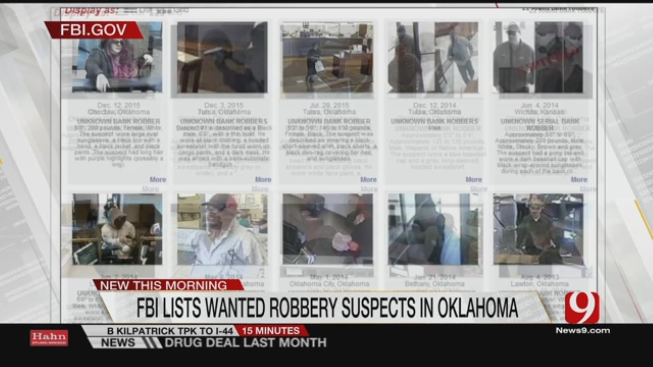 FBI, OBA Seek Help In Identifying, Catching Bank Robbers
