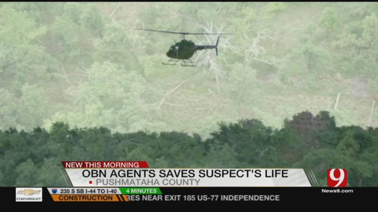 Agents Save Overdosed Man After Drug Bust In SE OK