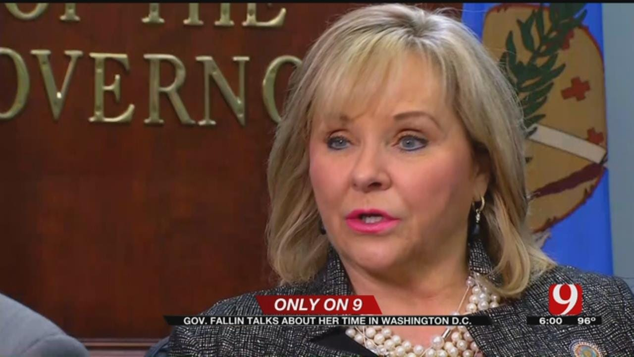 Gov. Fallin Talks About Her Time In D.C. At Criminal Justice Summit