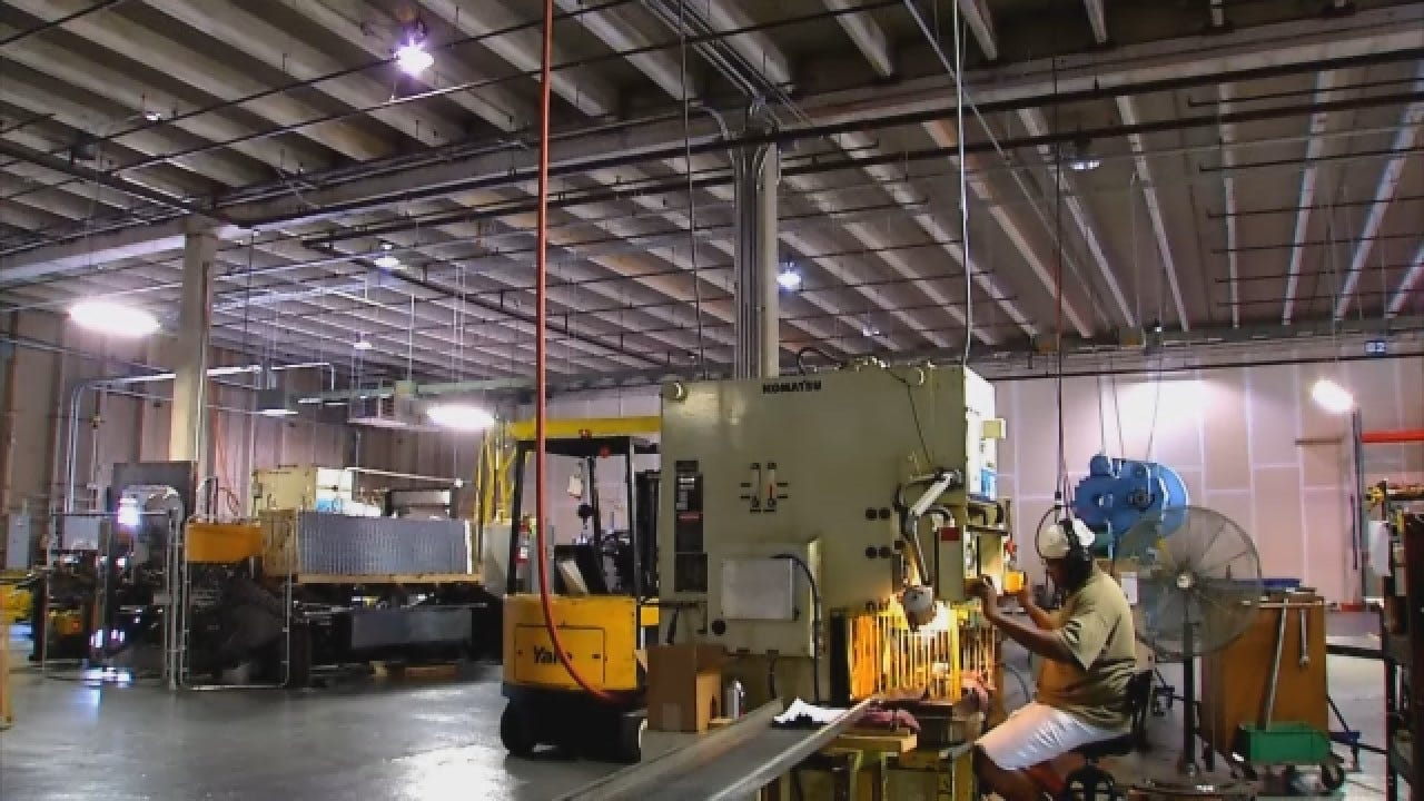 Manufacturing Jobs On The Rise