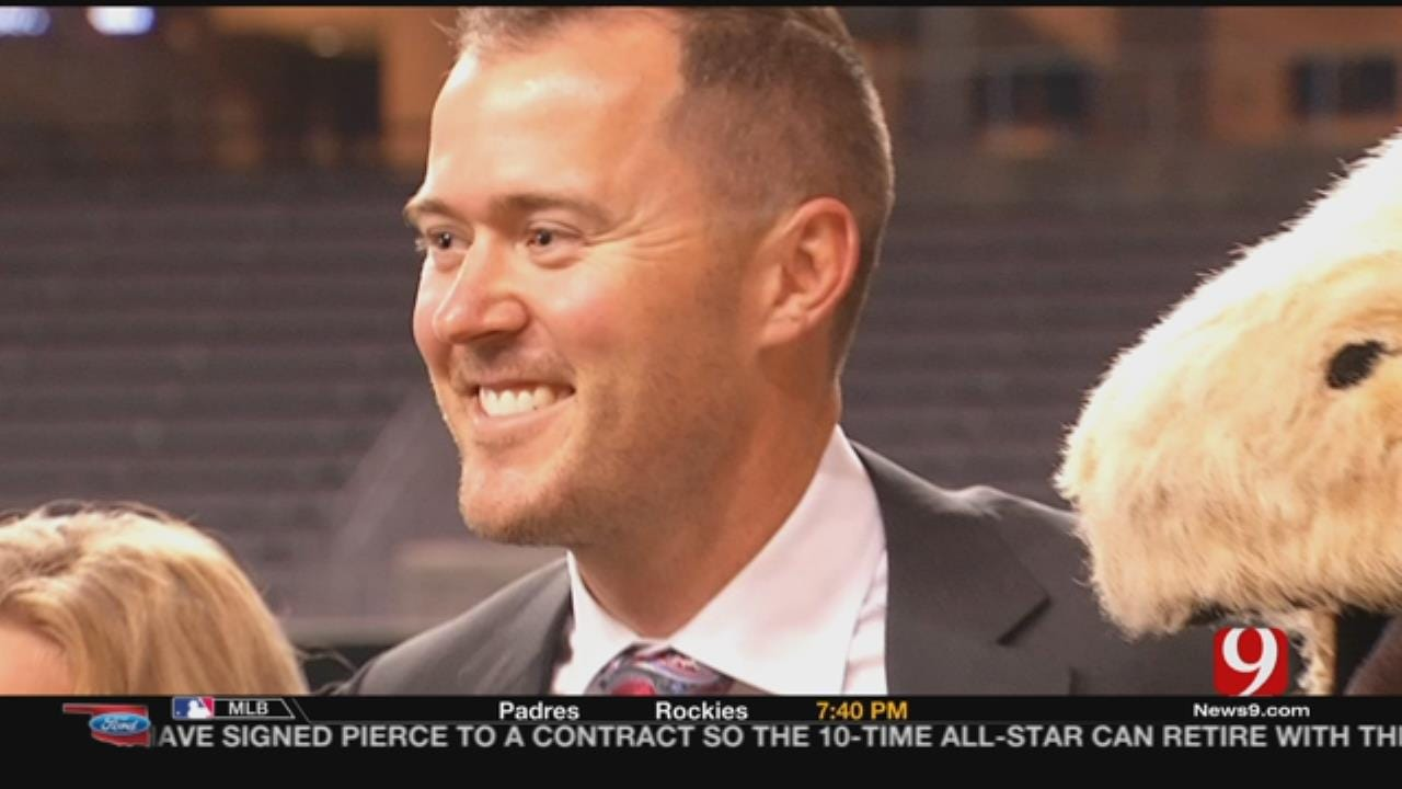 OU's Lincoln Riley Soaks In First Big 12 Media Day