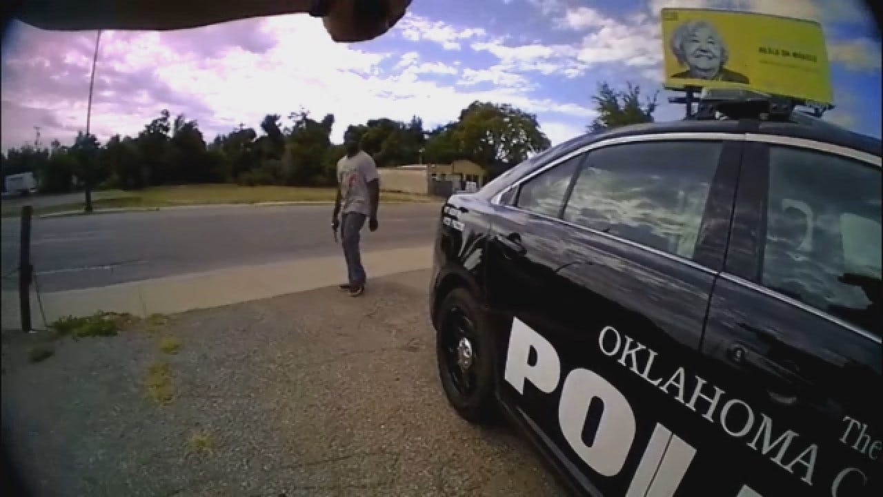 WEB EXTRA: OKCPD Release Bodycam Foorage Of Deadly Officer-Involved Shooting