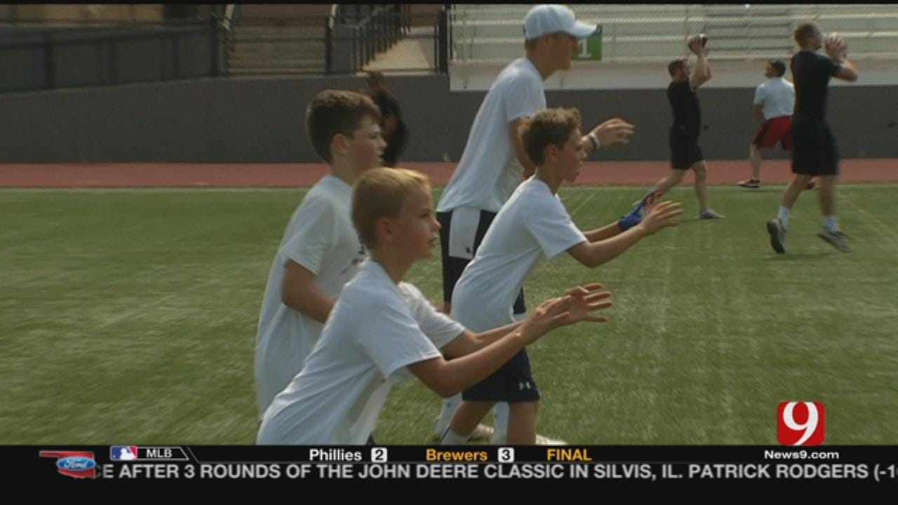 Students In OKC For QB Impact Camp
