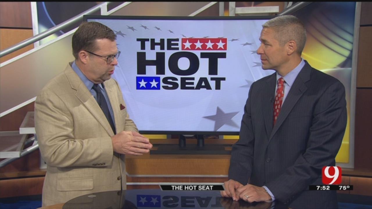 Hot Seat: Michael Brooks