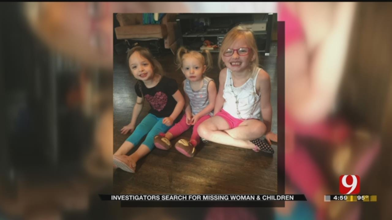 Chickasha Police Search For New Leads To Find Missing Mom, Kids