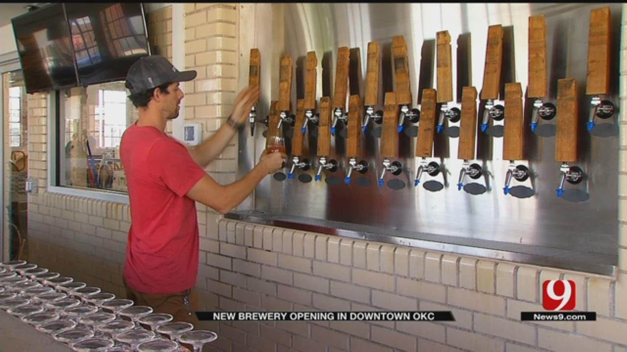 Brewery Opens Inside Historic Building In Downtown OKC