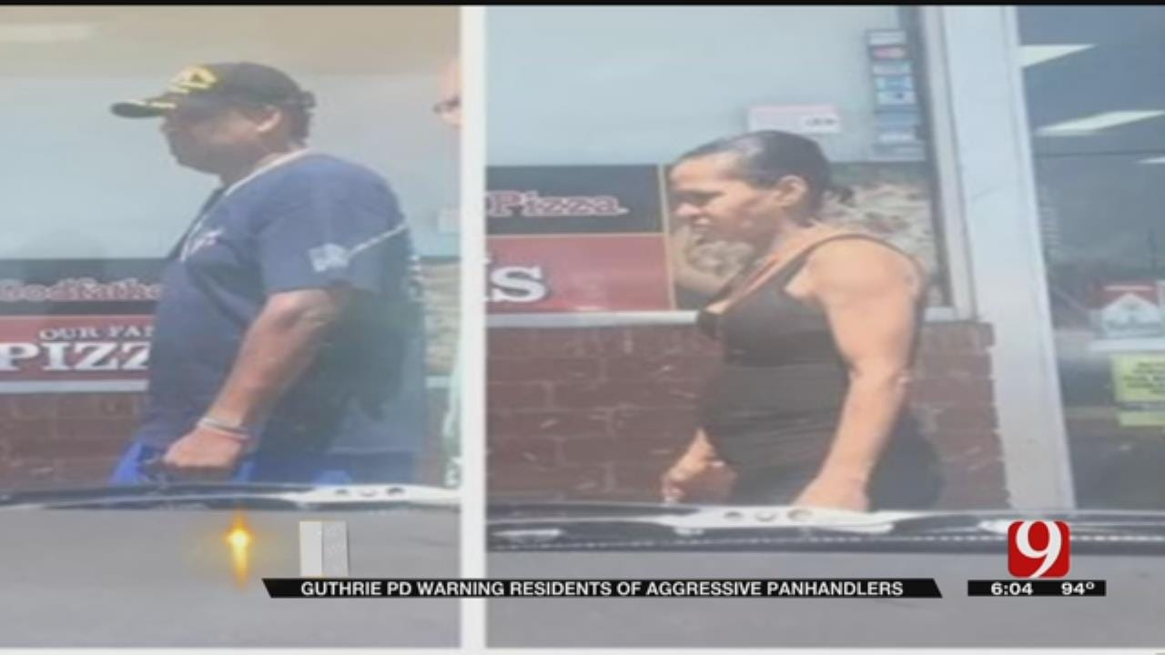 Guthrie Police Concerned Panhandlers Could Become Violent
