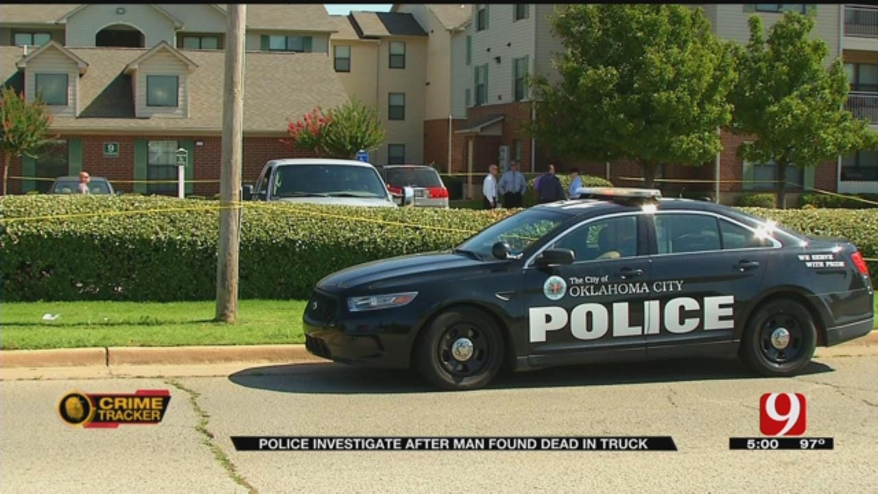 Body Found In Truck At Southeast OKC Apartment Complex