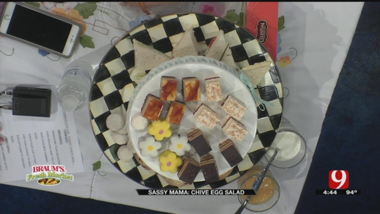 Chive Egg Salad