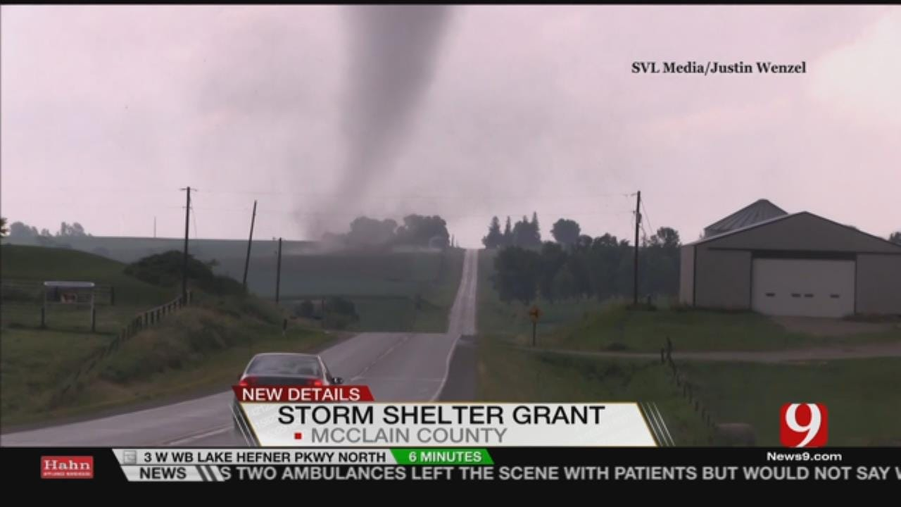Federal Grant Program Can Give McClain County Homeowners New Storm Shelter