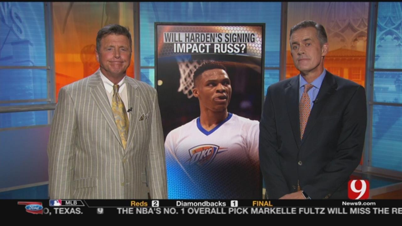 Dean & John: Will Harden's Signing Influence Russ?