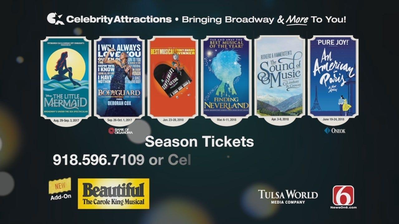 Celebrity Attractions Tulsa Broadway Season 2017