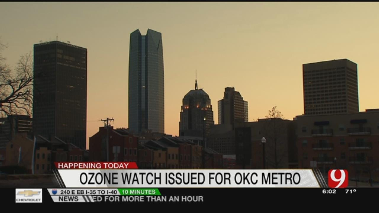 DEQ Issues Ozone Watch Today
