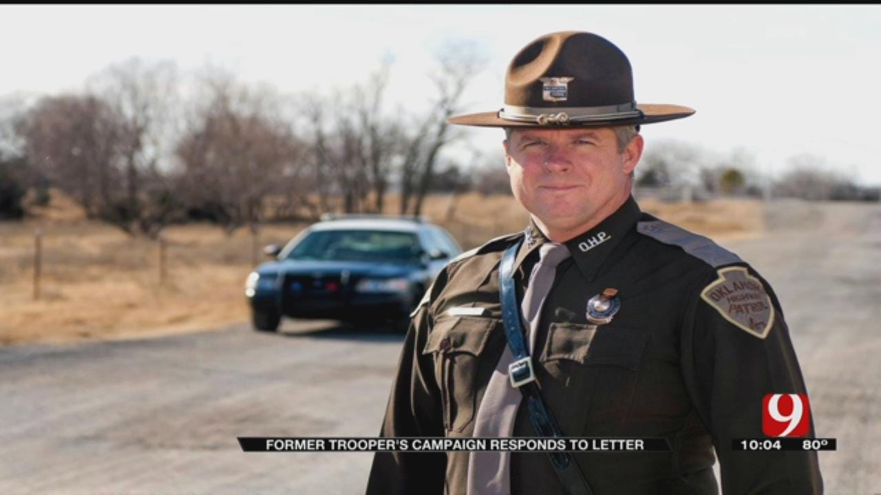 Former Trooper's Campaign Responds To Letter