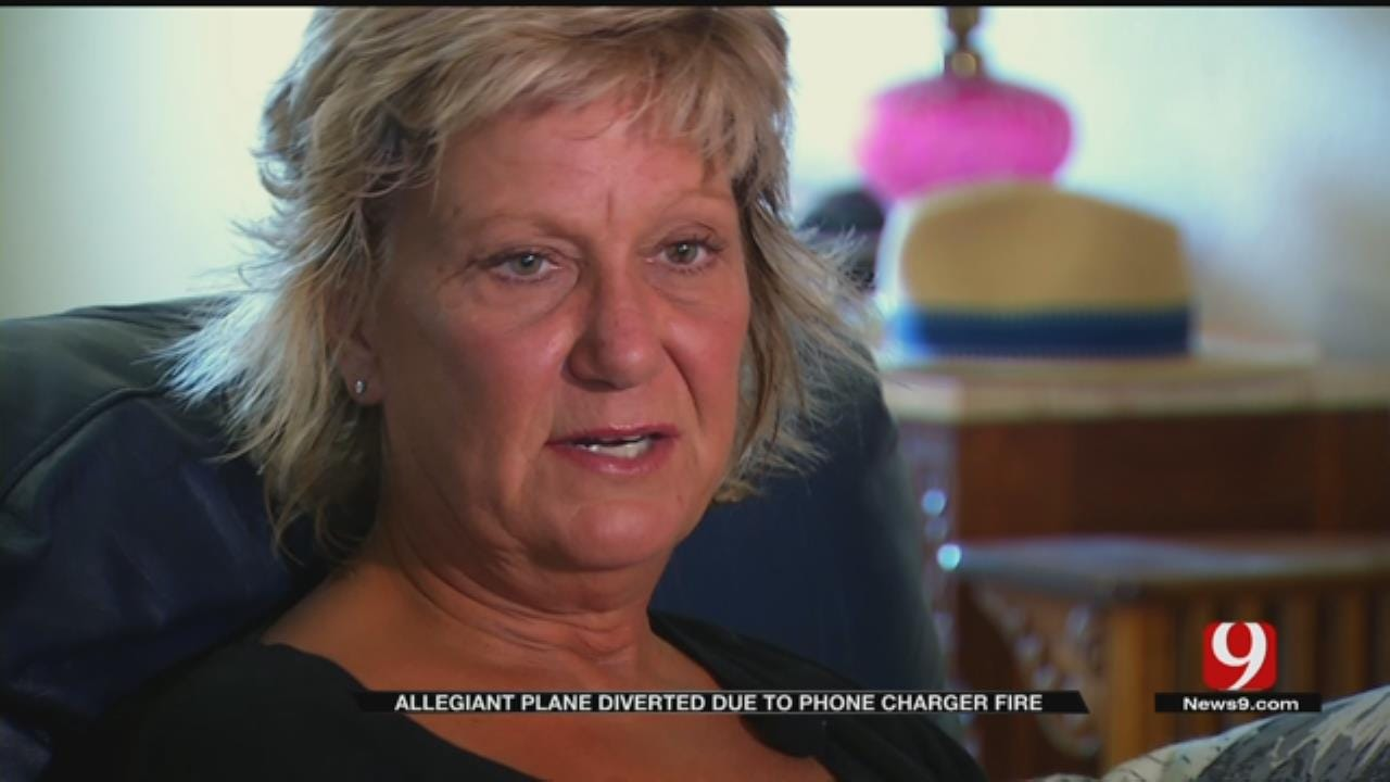 Moore Woman Says She Was Pressured To Delete Video Of Airplane Fire