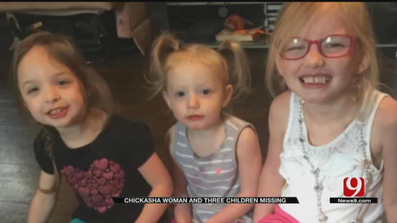 Chickasha Mom, 3 Children Missing