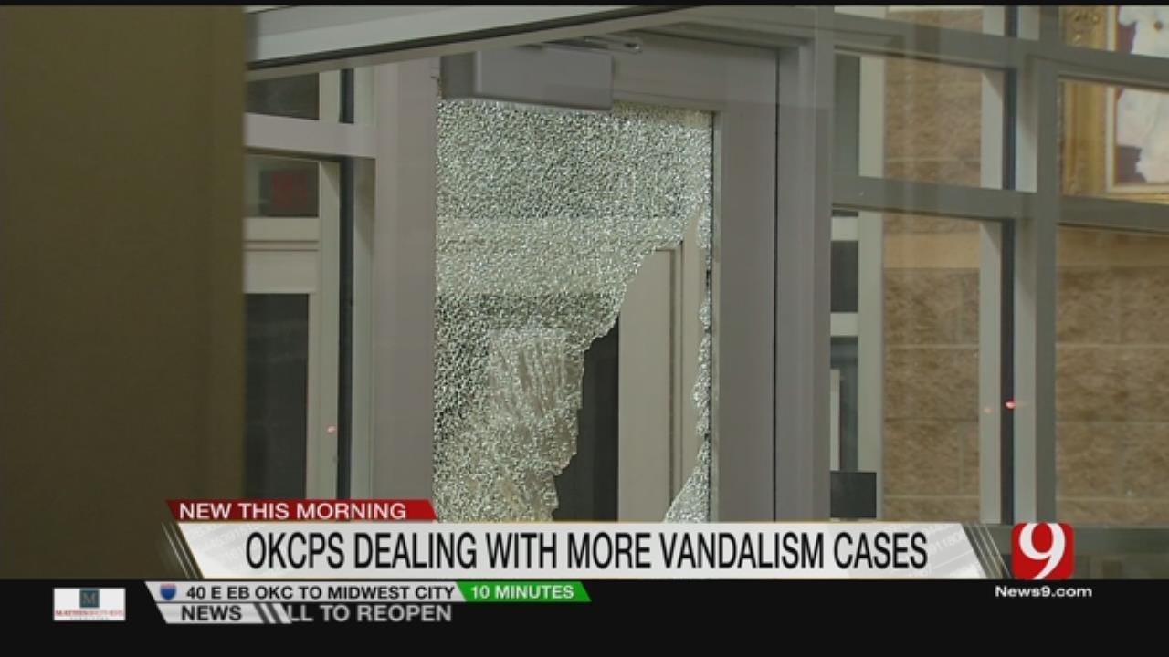 OKCPS Looking At Ways To Curb Recent Rash Of Vandalism