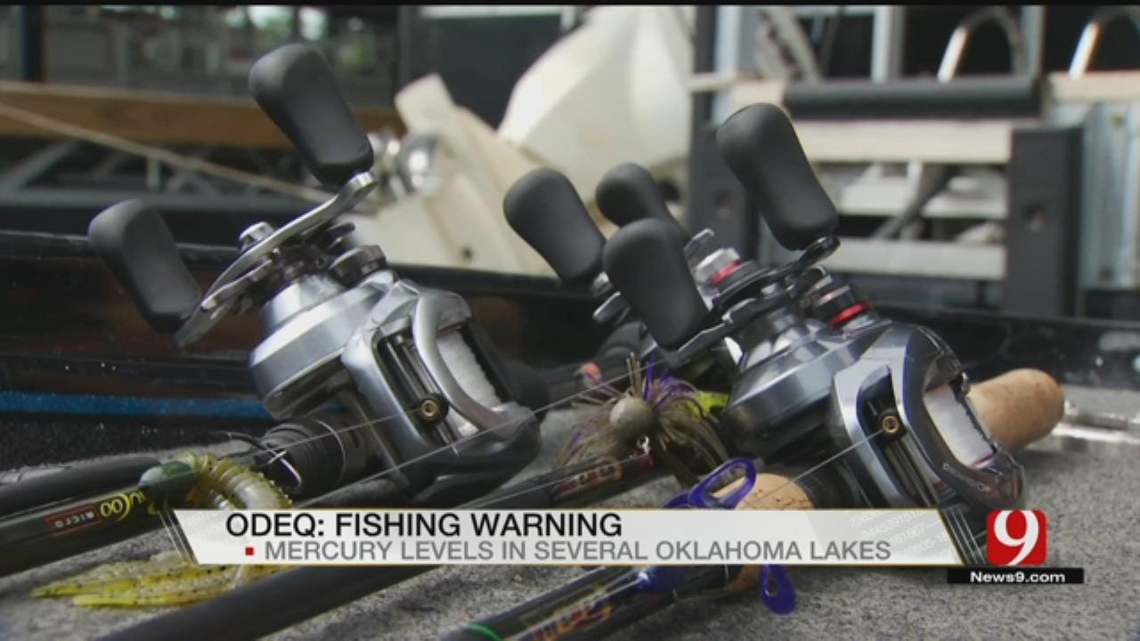 14 More Oklahoma Lakes Have Elevated Mercury Levels In Fish