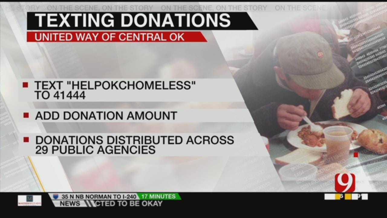 OKC Launches Text-To-Give Campaign To Help End Homelessness