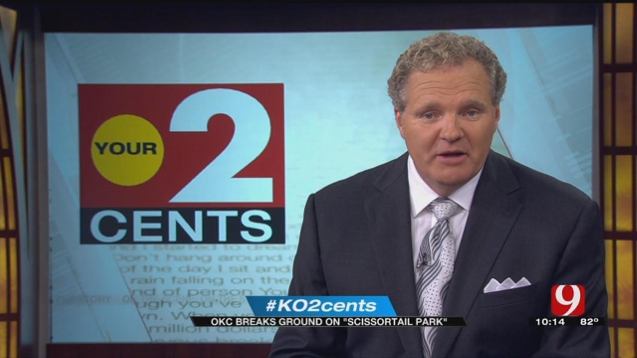 Your 2 Cents: OKC Breaks Ground On 'Scissortail' Park