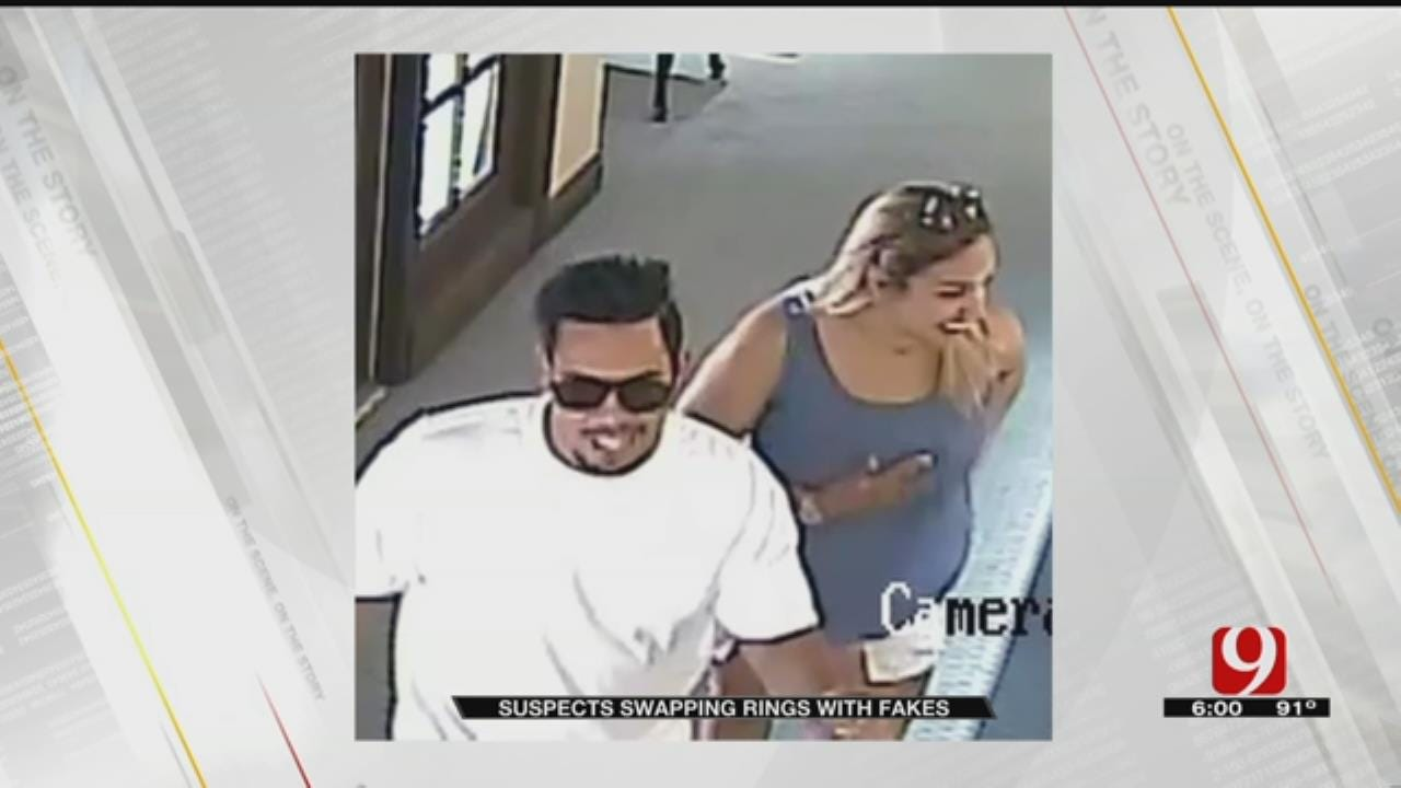 Ring Thieves Hit Two Metro Jewelry Stores