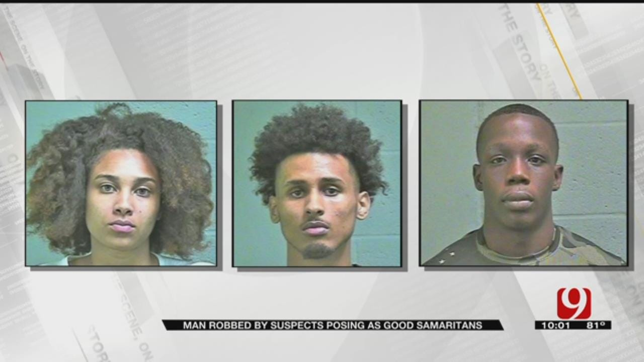 Police Arrest Suspects Who Tricked Driver, Robbed Him At Gunpoint