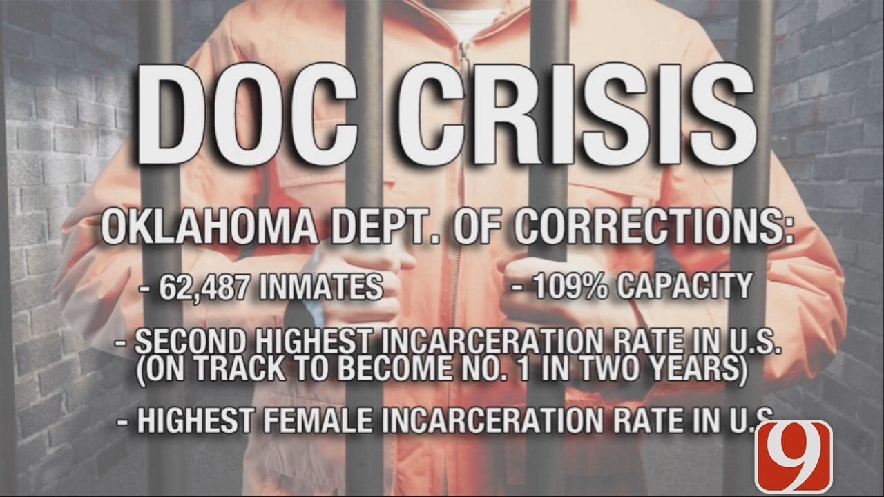 DOC Holds News Conference Addressing Prison Overcrowding