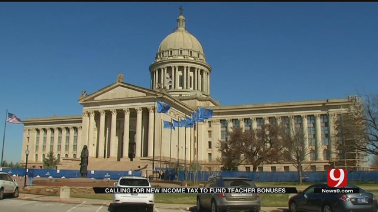 OKC Coalition Proposes Tax Increase To Fund Teacher Raises