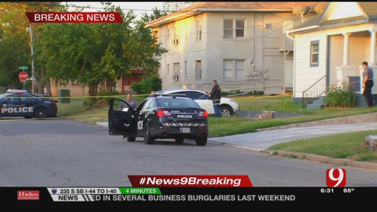 Resident Shot In NW OKC Home Burglary